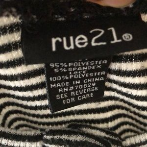 Rue21 Tops - A Buttoned front lace Shirt
